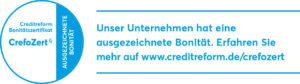 Creditreform bestätigt CooolCase ausgezeichnete Qualität